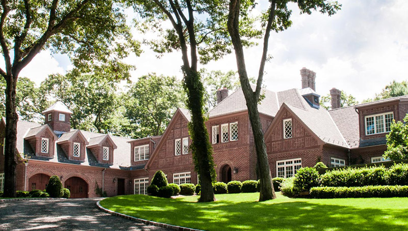 Traditional Brick Tudor Estate Architecture