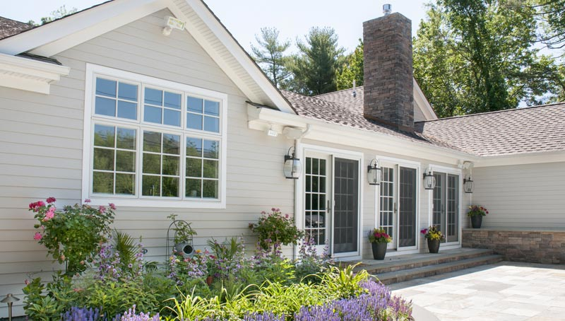 Architecture of Long Island Traditional, Flower Hill Home