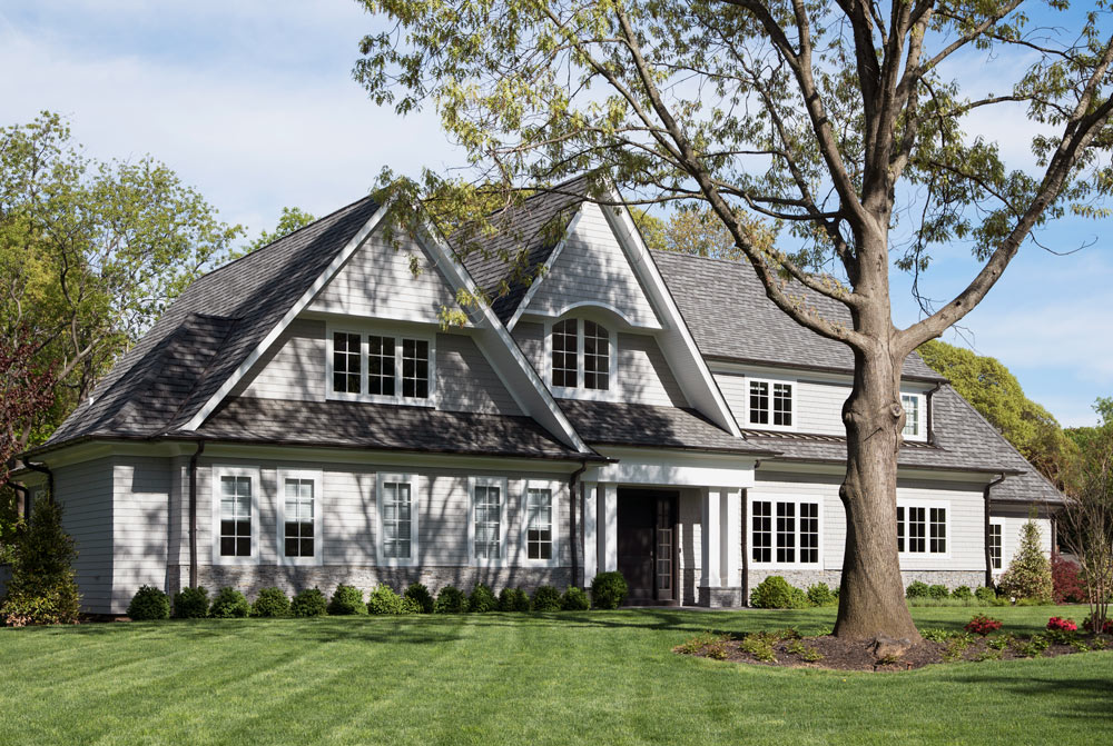 Sands Point NY Classic Shingle Style Home Exterior