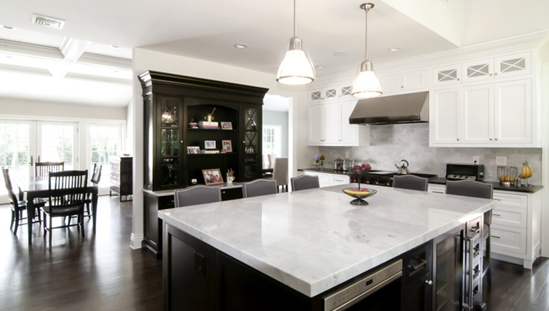 Huntington NY Traditional Kitchen Interior Design