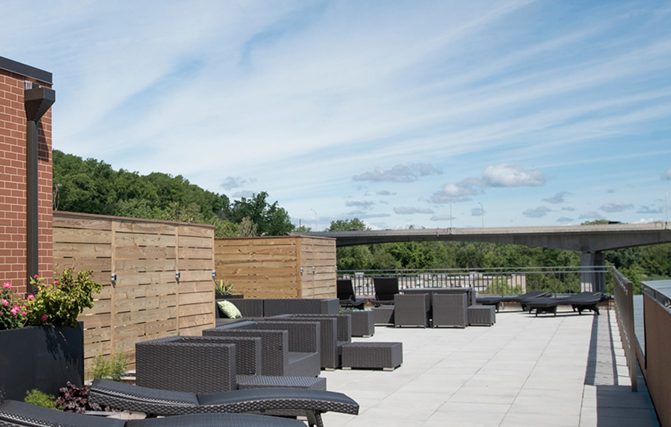 Roslyn NY Building Roof Deck Architecture