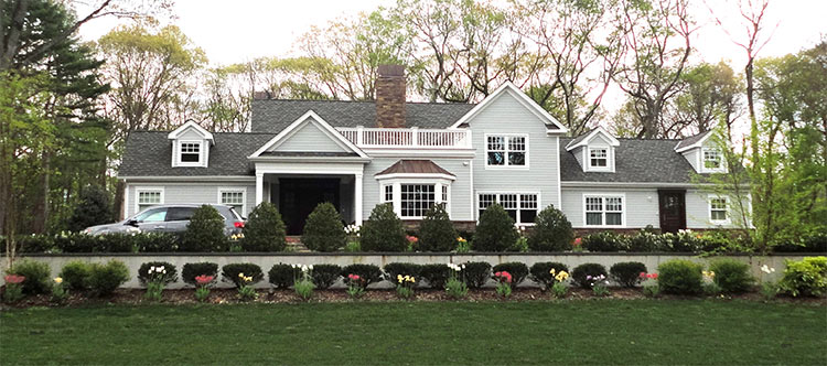 Old Westbury Home After Major Renovation