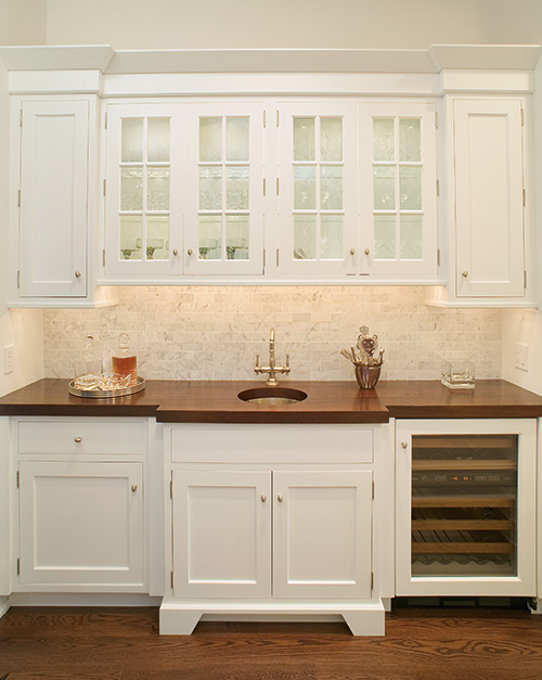 Bulter Pantry and High End Kitchen Design Long Island