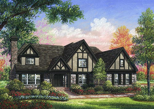 Historic Long Island Architecture Drawings by Donley Murray