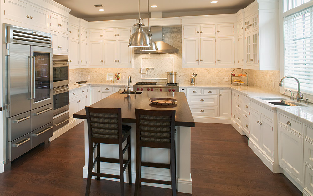 Long Island Traditional Interior Kitchen Design