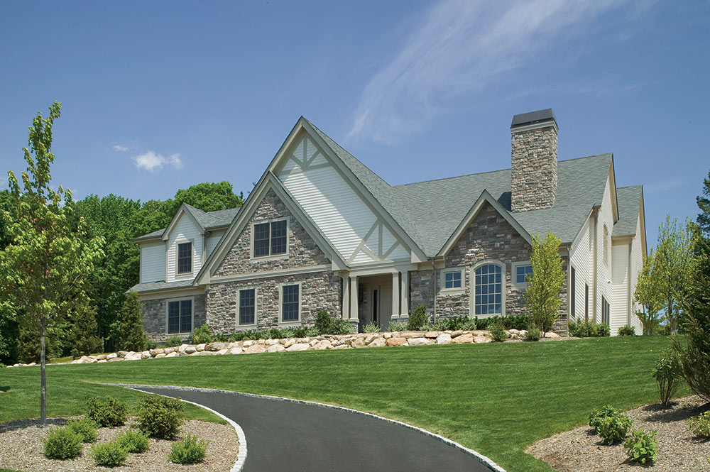 Old World Home Design at Stonehill Development