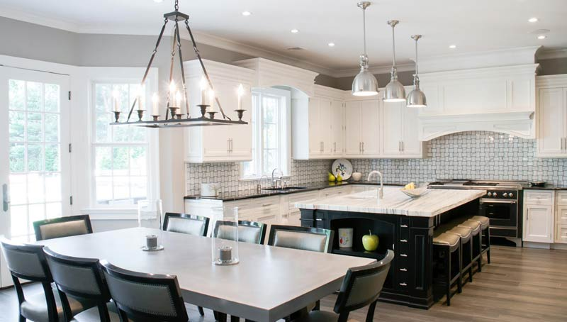 Bright Kitchen Interior Design Woodbury NY